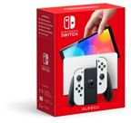 Nintendo Switch OLED 2021, hvid