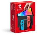 Nintendo Switch OLED 2021, neon