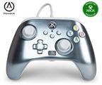 PowerA Xbox Enhanced Wired Controller Metallic Ice