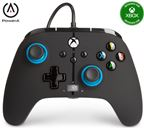 PowerA Xbox Enhanced Wired Controller Blue Hint