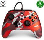 PowerA Xbox Enhanced Wired Controller Metallic Red Camo