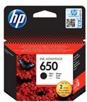 HP INK CARTRIDGE NO 650 BLACK