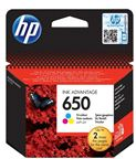 HP INK CARTRIDGE NO 650 C/M/Y