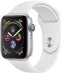 Apple MU642DH/A Apple Watch Series 4 GPS, 40mm Silver Aluminium Case with White