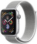Apple MU652DH/A Apple Watch Series 4 GPS, 40mm Silver Aluminium Case with Seashe