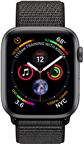 Apple MU672DH/A Apple Watch Series 4 GPS, 40mm Space Grey Aluminium Case with Bl