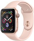 Apple MU682DH/A Apple Watch Series 4 GPS, 40mm Gold Aluminium Case with Pink San