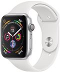 Apple MU6A2DH/A AppleWatch Series4 GPS,44mm Silver Aluminium Case with White