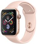 Apple MU6F2DH/A Apple Watch Series 4 GPS, 44mm Gold Aluminium Case with Pink San