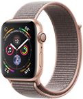 Apple MU6G2DH/A Apple Watch Series 4 GPS, 44mm Gold Aluminium Case with Pink San