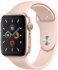 Apple MWWD2DH/A Apple Watch Series 5 + Cellular, 44mm Gold Aluminium Case, Pink