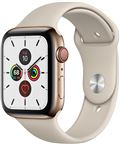 Apple MWWH2DH/A Apple Watch Series 5 + Cellular, 44mm Gold Stainless Steel Case,