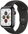 Apple MWWK2DH/A Apple Watch Series 5 + Cellular, 44mm Space Black Stainless Stee