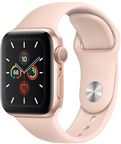 Apple MWX22DH/A Apple Watch Series 5 + Cellular, 40mm Gold Aluminium Case, Pink