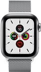 Apple MWX52DH/A Apple Watch Series 5 + Cellular, 40mm Stainless Steel Case, Stai