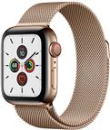 Apple MWX72DH/A Apple Watch Series 5 + Cellular, 40mm Gold Stainless Steel Case,