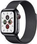 Apple MWX92DH/A Apple Watch Series 5 + Cellular, 40mm Space Black Stainless Case