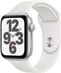 Apple MYDQ2DH/A Watch SE GPS, 44mm Silver Aluminium Case with White Sport Band -