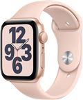 Apple MYDR2DH/A Watch SE GPS, 44mm Gold Aluminium Case with Pink Sand Sport Band