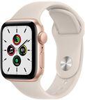 Apple Watch SE 2021 GPS, 40mm Gold Aluminium Case Starlight Sport Band