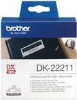 Brother DK-22211 Etiketter   (2,9 cm x 15,2 m)