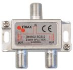 Triax SCS 2. 2-fördelare 4,2/6,7 dB