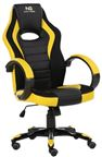 Nordic Gaming Charger Gaming Chair Yellow Black