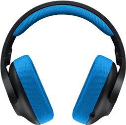 Logitech Gaming Headset G233 Prodigy Kabling Blå Sort Headse