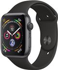 Apple MU6D2/EU Apple Watch Series 4 44mm GPS Space Grey med Black Sport Band