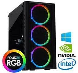 FOURZE Prime Alpha 8/512GB, i5-9400F, RTX 2060 SUPER - 6GB