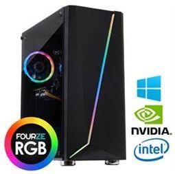 FOURZE Prime Guardian 8/256+1TB, i5-9400F, GTX 1660 SUPER - 6GB