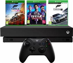 Microsoft Xbox One X 1TB inkl. Forza Horizon 4, Forza Motorsport 7 og FiFA 19