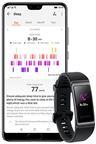 Huawei Band 3 Pro, sort