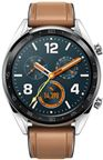 Huawei Watch GT m/læderrem, sølv