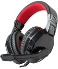 Marvo H8329 Gaming Headset med Mic. Sort/Rød