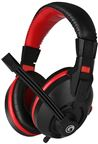 Marvo H8321 Gaming Headset med Mic. Sort/Rød