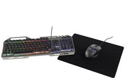Deltaco GAM-047 Gaming KIT 3-in-1 Mus tangentbord Musmatta