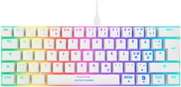 Deltaco Gaming Whiteline WK85B Mechanical keyboard, Brown switches